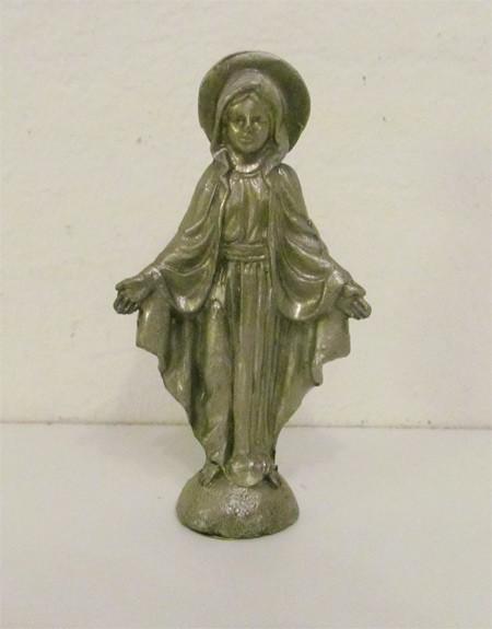 Heilige Maria - Metallfigur - Selbststehend
