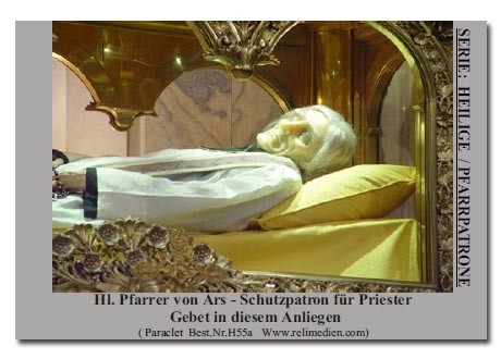 Heiliger Pfarrer von Ars