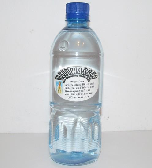 Weihwasser 500 ml - Taufe - Geschenksidee