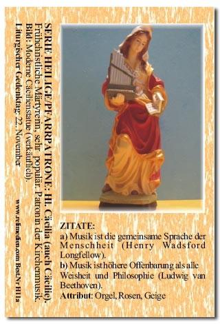 Heilige Cäcilia