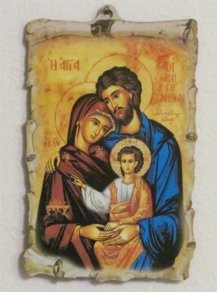 Heilige Familie - Bild zum Aufhängen