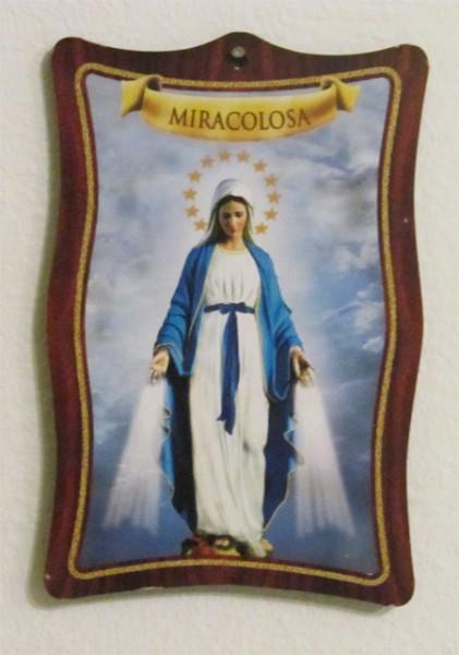 Heilige Maria - Miracolosa - Bild