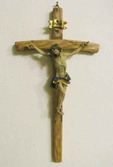 Holzkreuz - Jesus Christus
