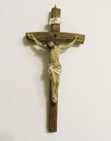 Jesus Christus Wandkreuz