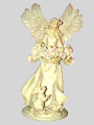 Engel mit Korb in der Hand - Variante 2