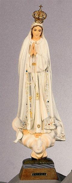 Heilige Maria Fatima Statue