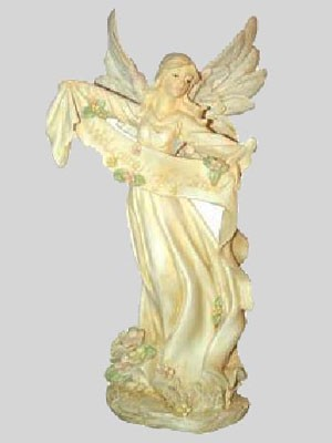 Engel mit Band in der Hand - Variante 5