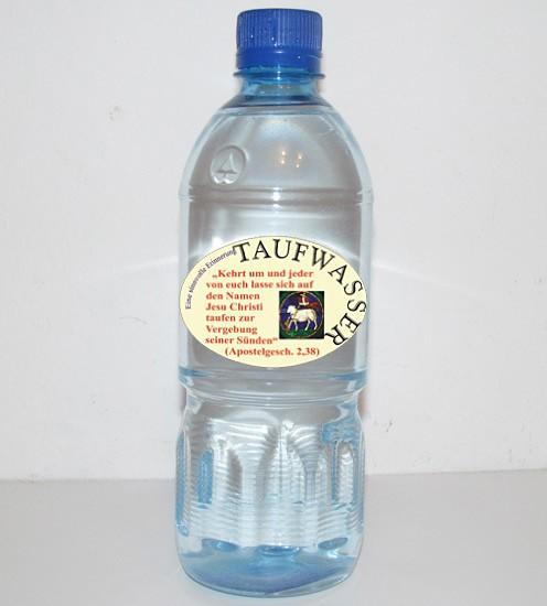 Taufwasser 500 ml