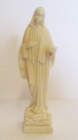 Hl. Maria in weiß - kleine Figur