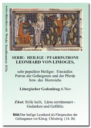 Heiliger Leonhard von Limoges