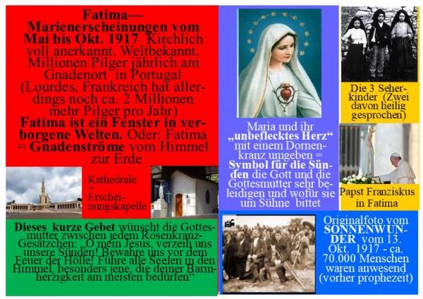 Set - 8 verschiedene Gebetsblätter (Gebetsbilder) bzw. Gebetsanleitungen