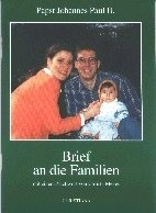 JP II./ Brief a.d.Familien