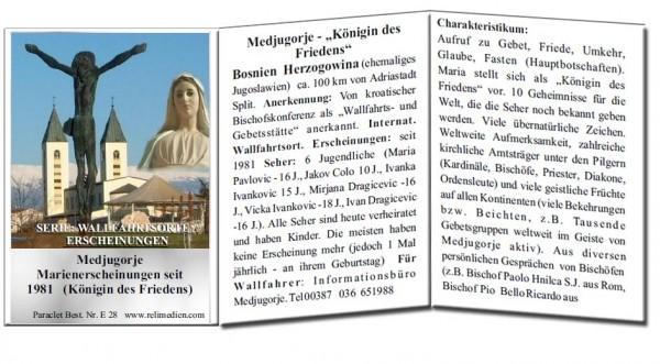 Medjugorje - Königin des Friedens