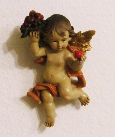 Engel als Wanddekoration