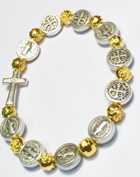 Armband :: Medaillen von Heiligen-auch als Rosenkranz verwendbar