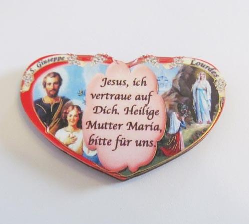 Plakette - Jesus und Maria
