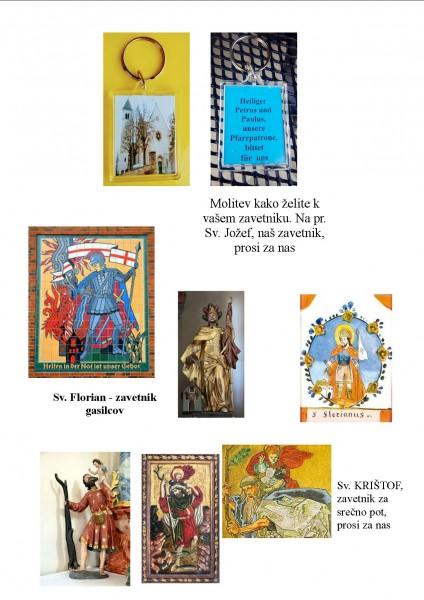 Obesek za ključe :: Svetniki in cerkve