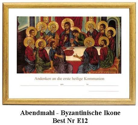 Abendmahl - Byzantinische Ikone