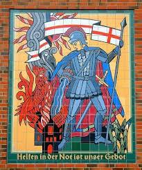 Schlüsselanhänger + Statuen Hl.Florian (Patron der Feuerwehr) als gute Zusatzeinnahme