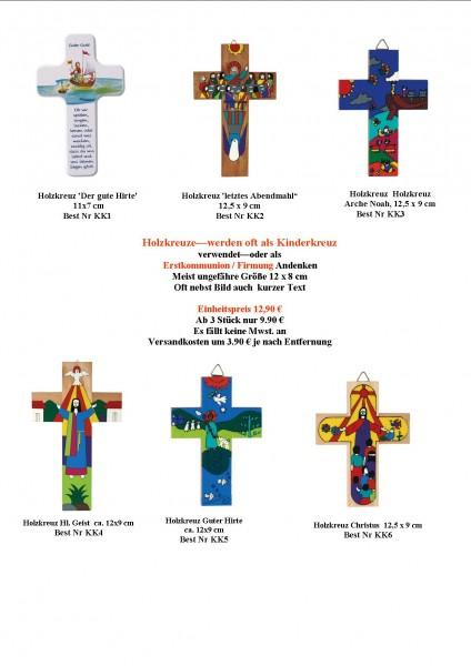 """Holzkreuze—werden oft als """"Kinderkreuz"""" bezeichnet, günstig (z.B. für Erstkomm. Firmung usw.)"""