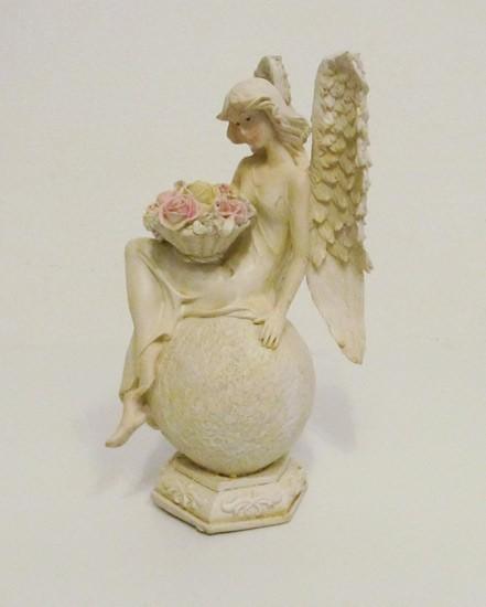 Engel mit Blumen - Variante 6