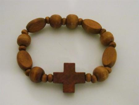 Armband - Holzkreuz