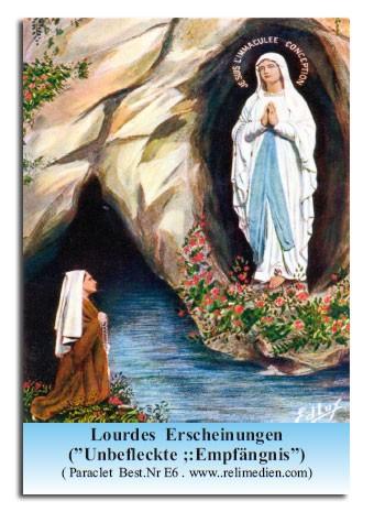 Lourdes Erscheinungen