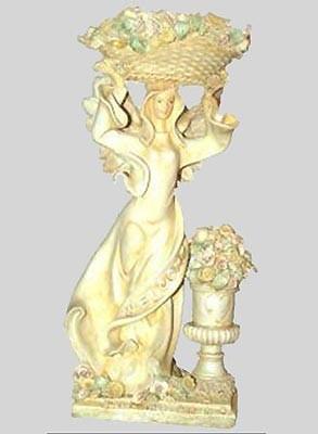 Engel mit Korb auf dem Kopf - Variante 1
