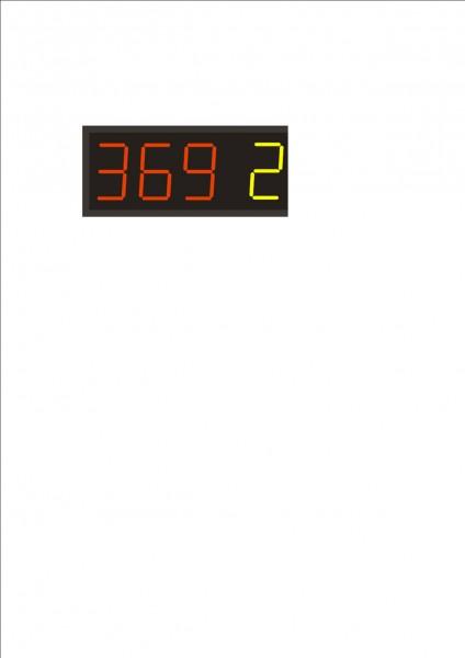 ELEKTRONSKO PLOŠCICO z eno telekomando za vaše pesmi (številke)