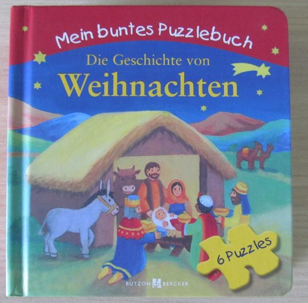 Mein buntes Puzzelbuch