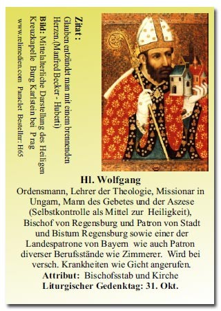 Heiliger Wolfgang