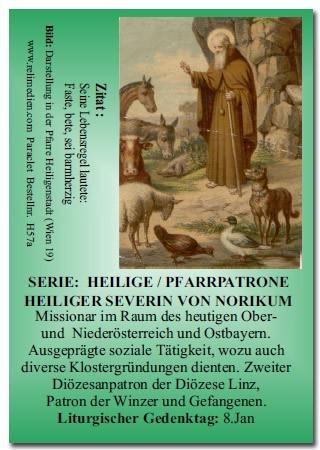 Heiliger Severin von Norikum